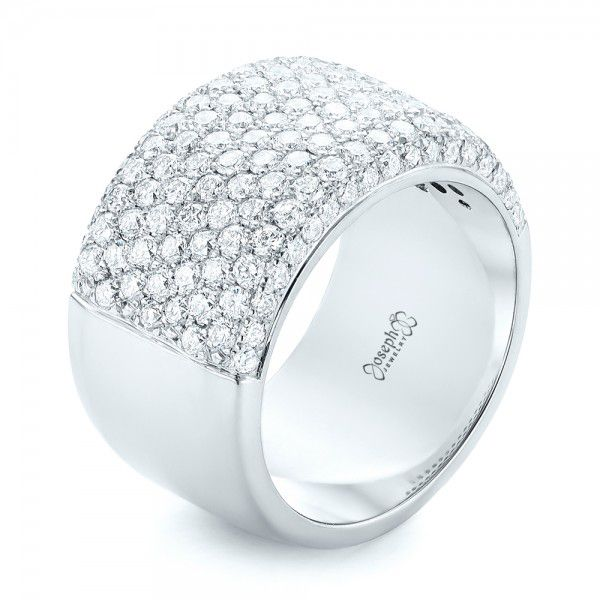 Custom Pave Diamond Fashion Ring - Image