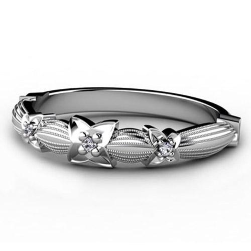 Custom Women's Diamond Ring