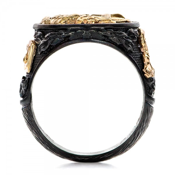 Eagle Ring - Capitan Collection - Top View