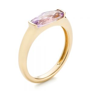 Lavender Amethyst Fashion Ring - Image
