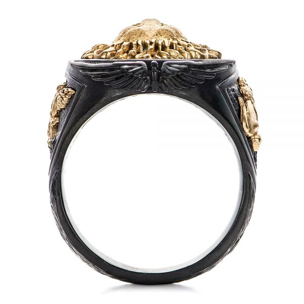 Lion Ring - Capitan Collection - Front View -