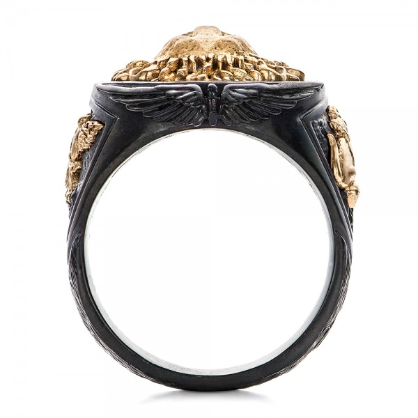 Lion Ring - Capitan Collection - Top View
