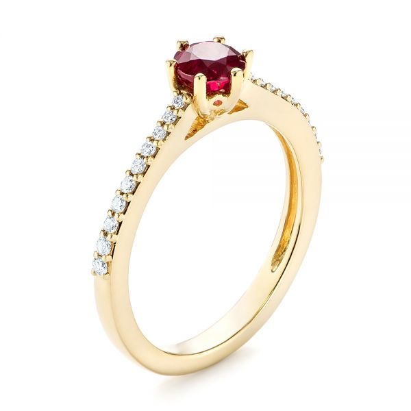 Ruby and Diamond Ring - Image