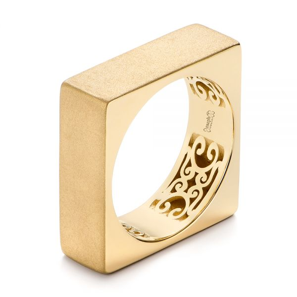 Stackable Square Fashion Ring - Image