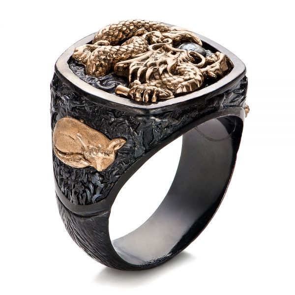 The Rising Dragon Ring - Capitan Collection - Image