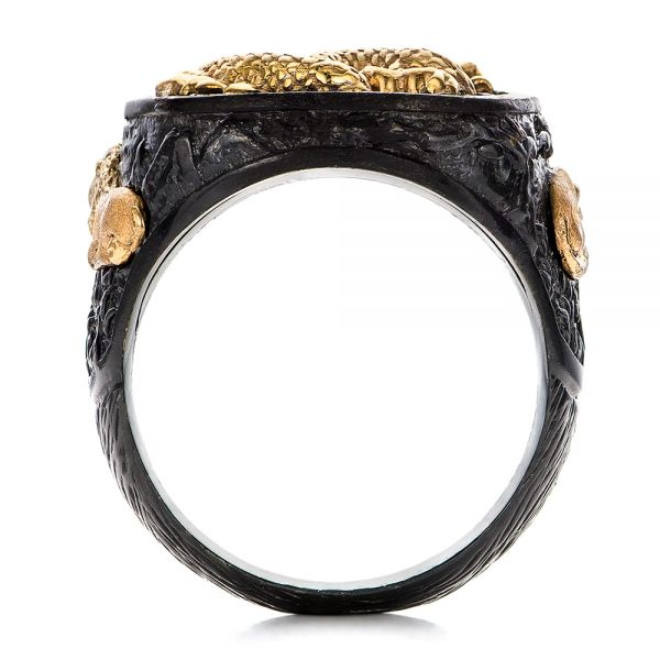The Rising Dragon Ring - Capitan Collection - Front View -