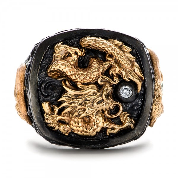 The Rising Dragon Ring - Capitan Collection
