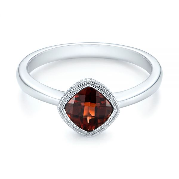 Vintage-Inspired Garnet Fashion Ring