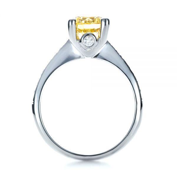 Canary Yellow Diamond Engagement Ring 1291 Seattle