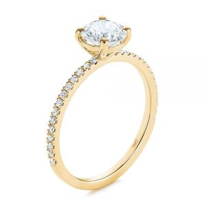 Classic Diamond Engagement Ring - Image