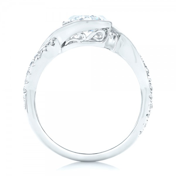 criss cross wrap engagement ring 102477