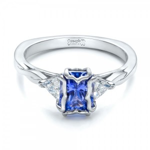 Sapphire Engagement Rings Custom Design Rings in Bellevue and Seattle