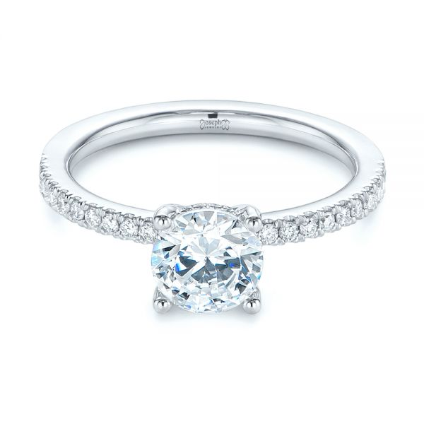 Custom Classic Diamond Engagement Ring
