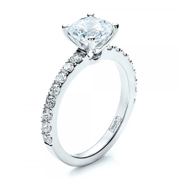 custom classic engagement ring 1469 - Classic Wedding Rings