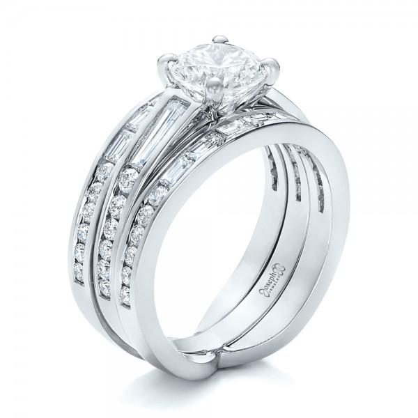 Custom Diamond Bridal Set