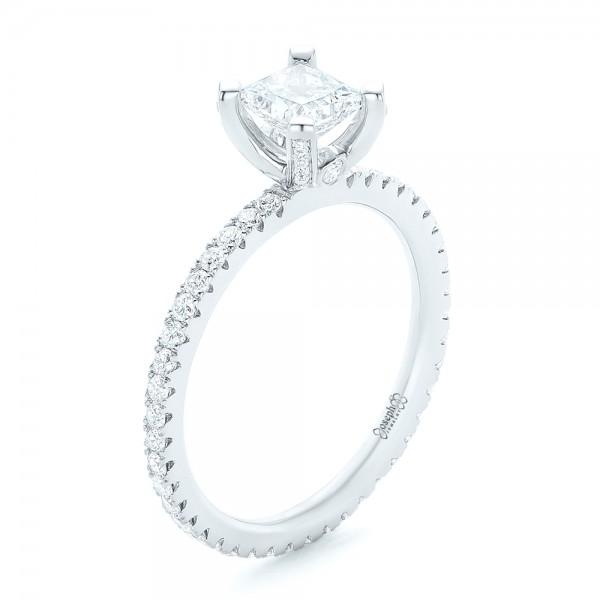Custom Diamond Eternity Engagement Ring