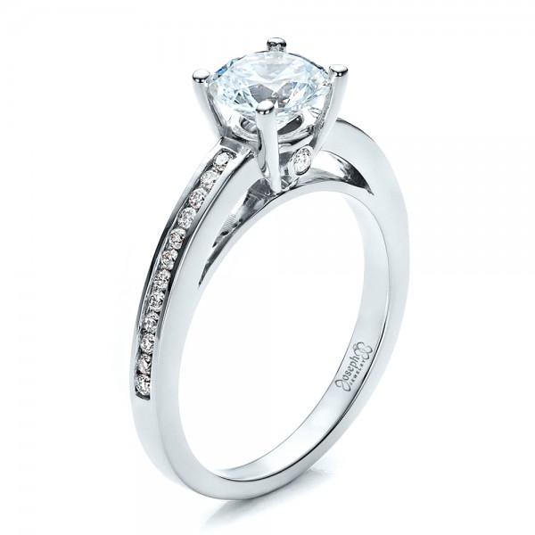 Custom Diamond Engagement Ring 1426