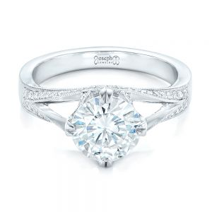 Custom Diamond Engagement Ring