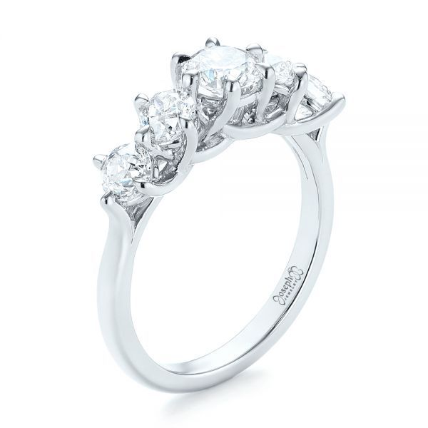 Custom Five Stone Engagement Ring - Image