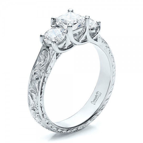 Engagement ring engravings
