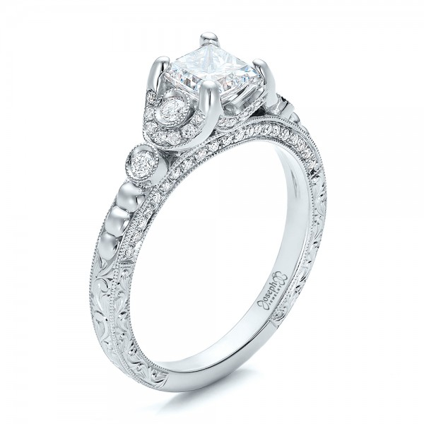 special quad delmar w engagement zales cut ct rings gold diamond at summer t princess white ring shopping shop in