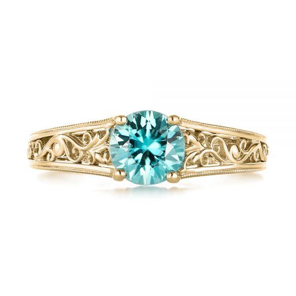 Zircon Solitaire Ring