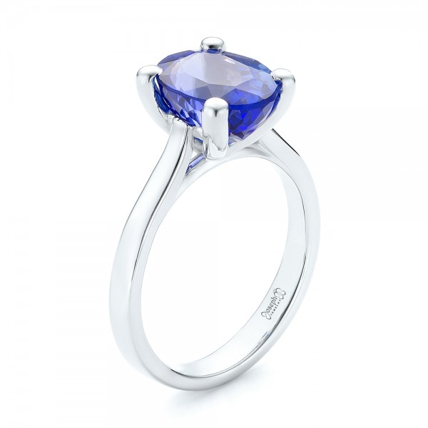edging milgrain engagement htm diamond and oval tanzanite with style ring antique rings gemstones
