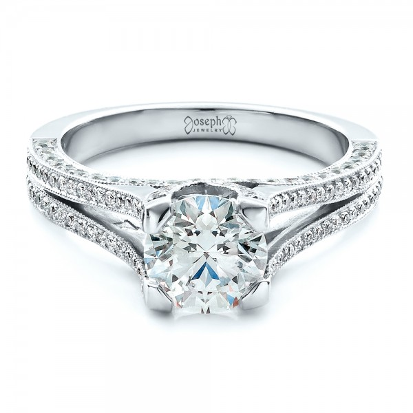 jupiter jewelry white rings product engagement inc gold gabriel shank round diamond ring split