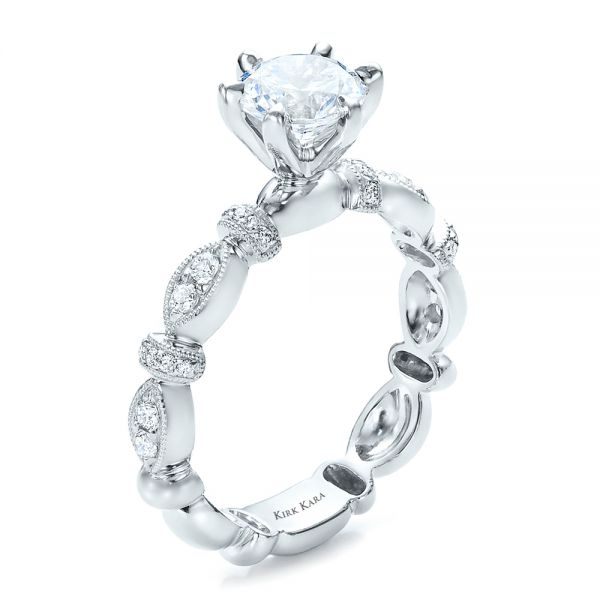 Diamond Engagement Ring - Kirk Kara