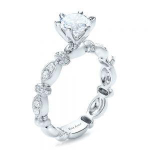 Diamond Engagement Ring - Kirk Kara - Image