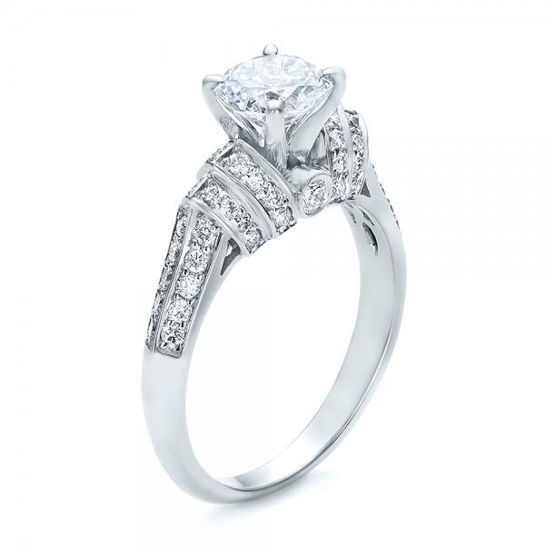 Diamond Engagement Ring - Vanna K