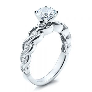 Diamond Engagement Ring - Vanna K - Image