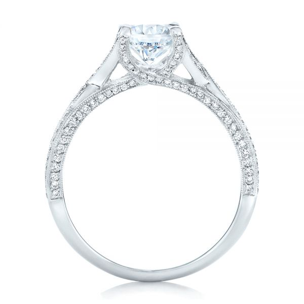 Diamond Engagement Ring - Front View -  100365 - Thumbnail