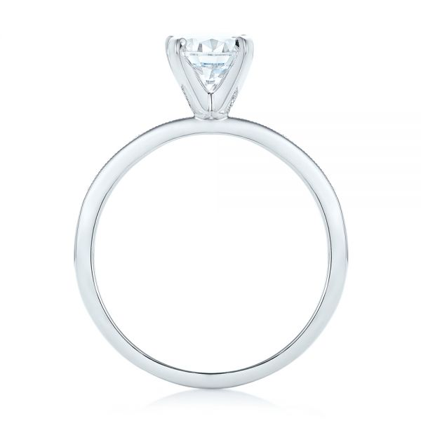 Diamond Engagement Ring - Front View -  102585 - Thumbnail