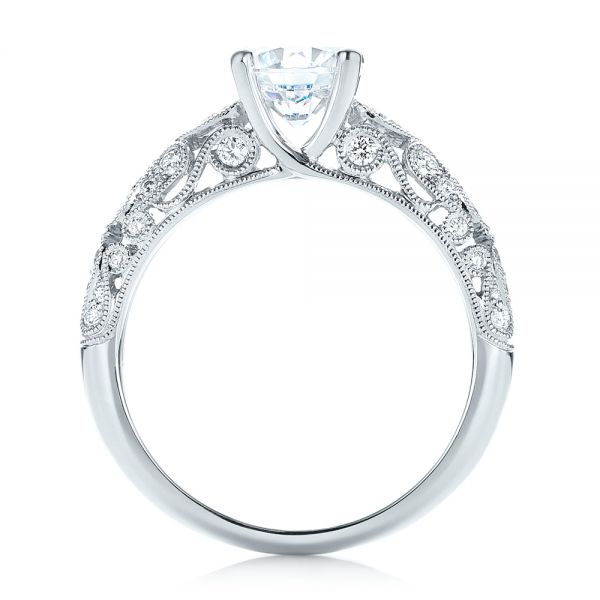 Diamond Engagement Ring - Front View -  103063 - Thumbnail