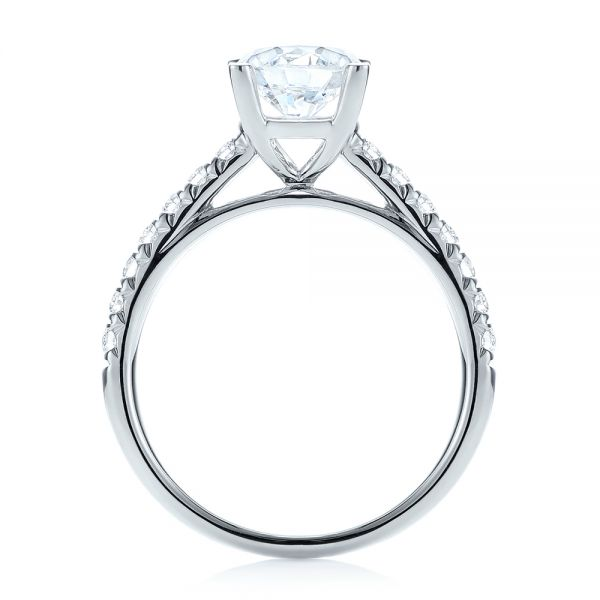 Diamond Engagement Ring - Front View -  103682 - Thumbnail