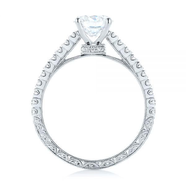 Diamond Engagement Ring - Front View -  103713 - Thumbnail