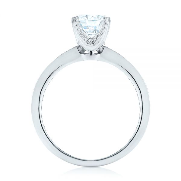 Diamond Engagement Ring - Front View -  103832 - Thumbnail