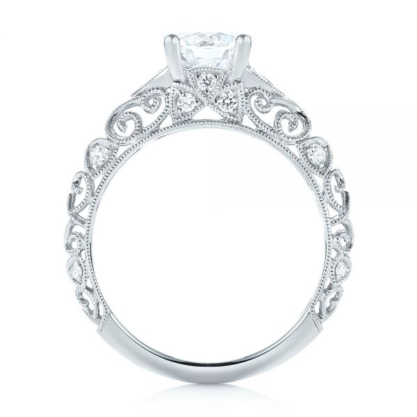 Diamond Engagement Ring - Front View -  103901 - Thumbnail