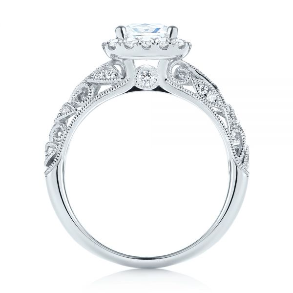 Diamond Engagement Ring - Front View -  103908 - Thumbnail