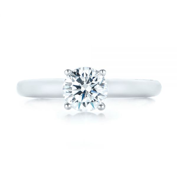 Diamond Engagement Ring - Top View -  103087 - Thumbnail