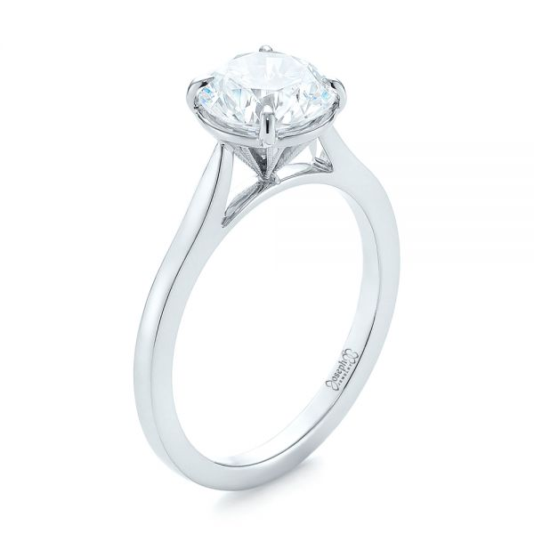 Diamond Solitaire Engagement Ring - Image