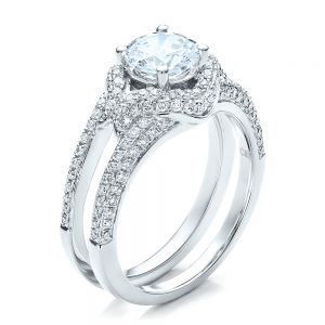 Engagement Ring with Eternity Band - Image