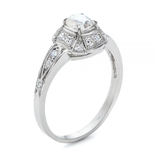 bc519a006ed8c Estate Diamond Engagement Ring