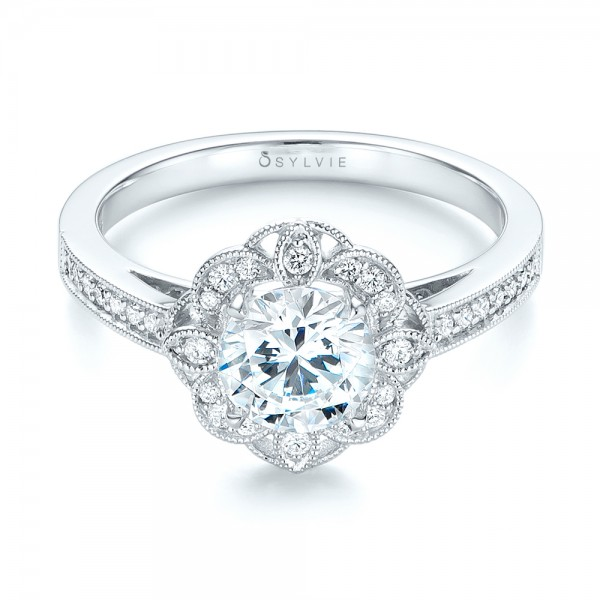fancy halo diamond engagement ring 103048 With fancy diamond wedding rings