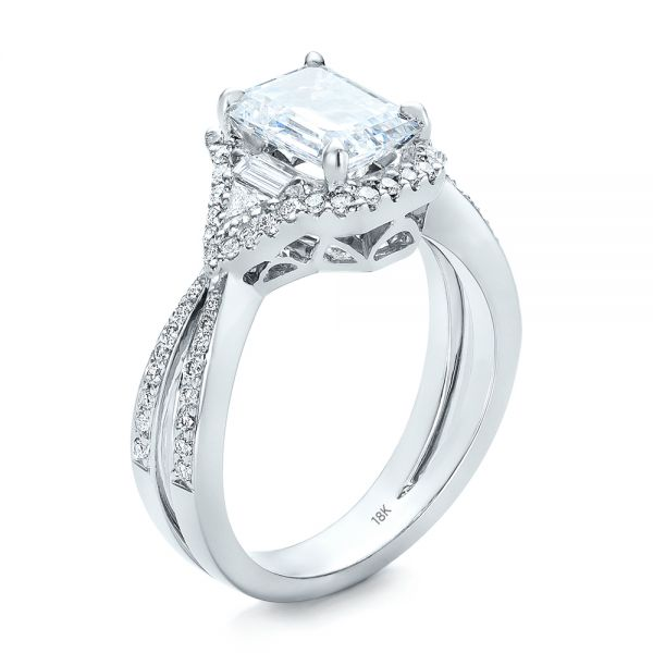 Five Stone Diamond Engagement Ring - Image