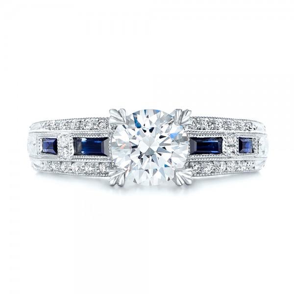 Antique Platinum Wedding Band 71 Cool Vintage engagement rings kirk