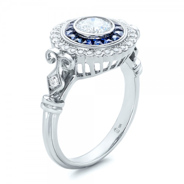 rings band format moissanite fitted star sets sapphire and wedding engagement profile low ring dust