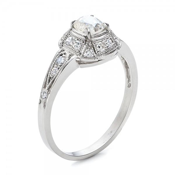 estate diamond engagement ring - Estate Wedding Rings