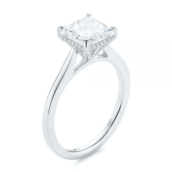Princess Cut Diamond Engagement Ring - Image
